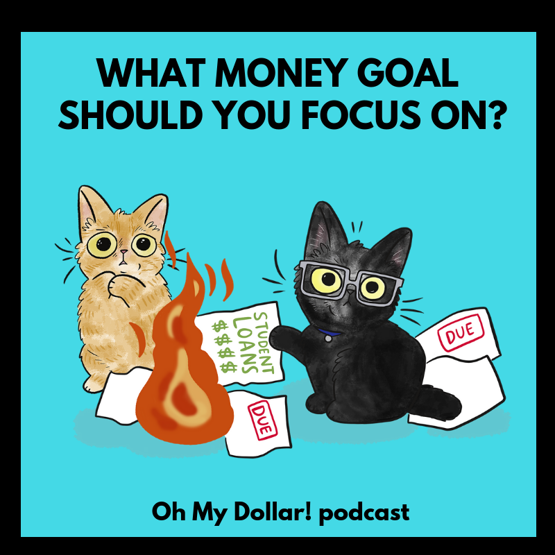 what money goals should you focus on podcast oh my dollar