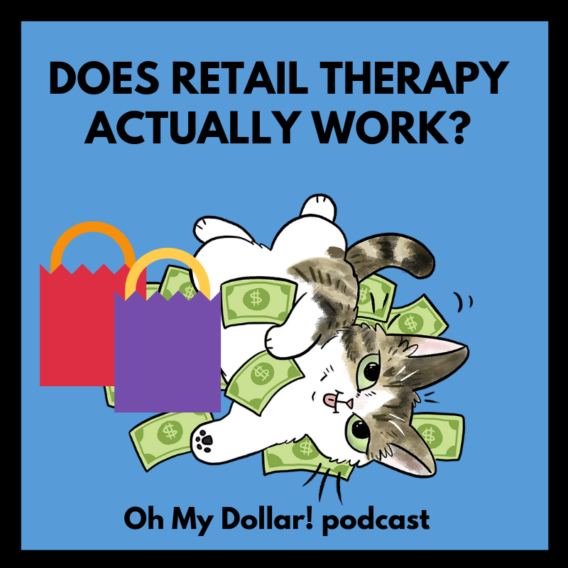 Pillow it/'s retail therapy/' /'It/'s not shopping..